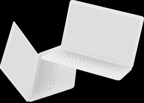 laptop rendering
