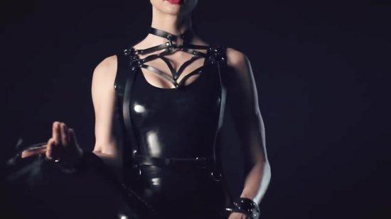 girl for bdsm bar commercial